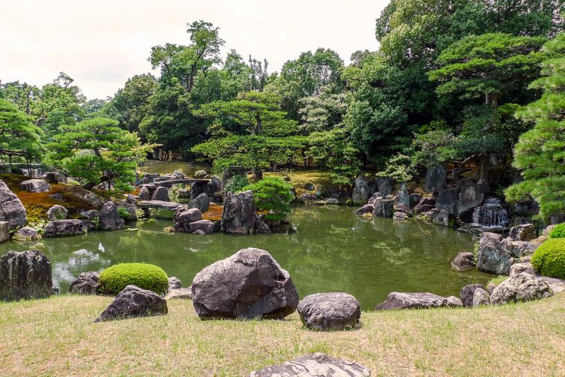 ogród japoński Nijo