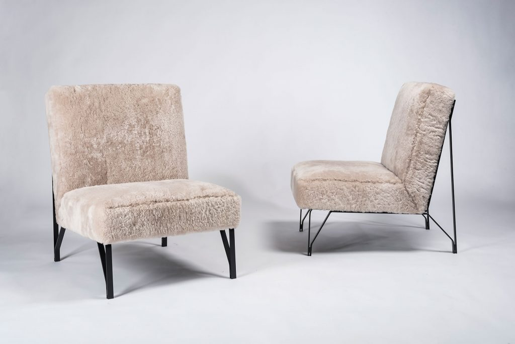 Fotele Riva, projekt: Eleanora Peruzzi, lata 50. XX wieku