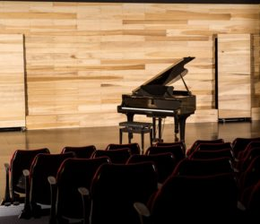 Performance hall at Northern Beaches College