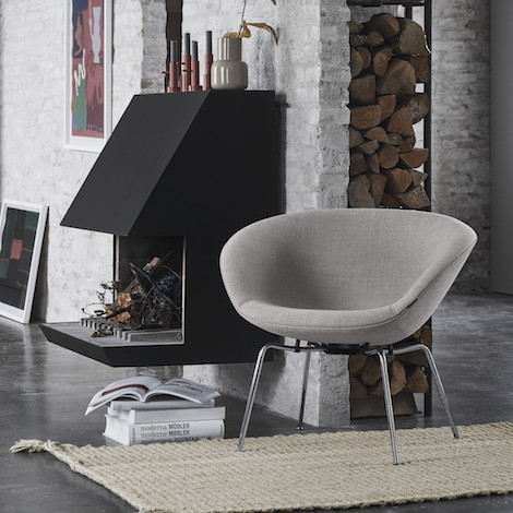 Pot Chair | Arne Jacobsen | © Republic of Fritz Hansen