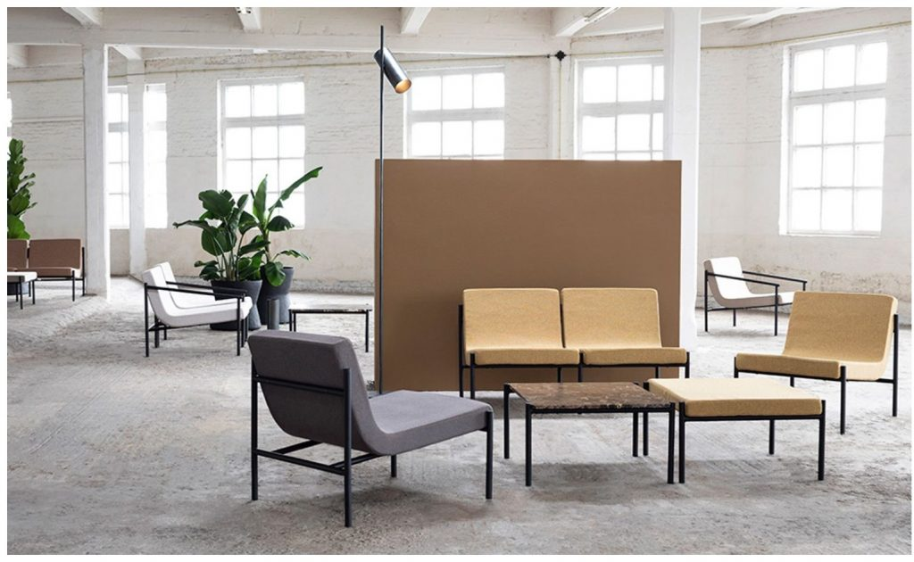 "Kolekcja siedzisk ""Curve"" marki Serax | design: Sylvain Willenz Maison & Objet 2020"