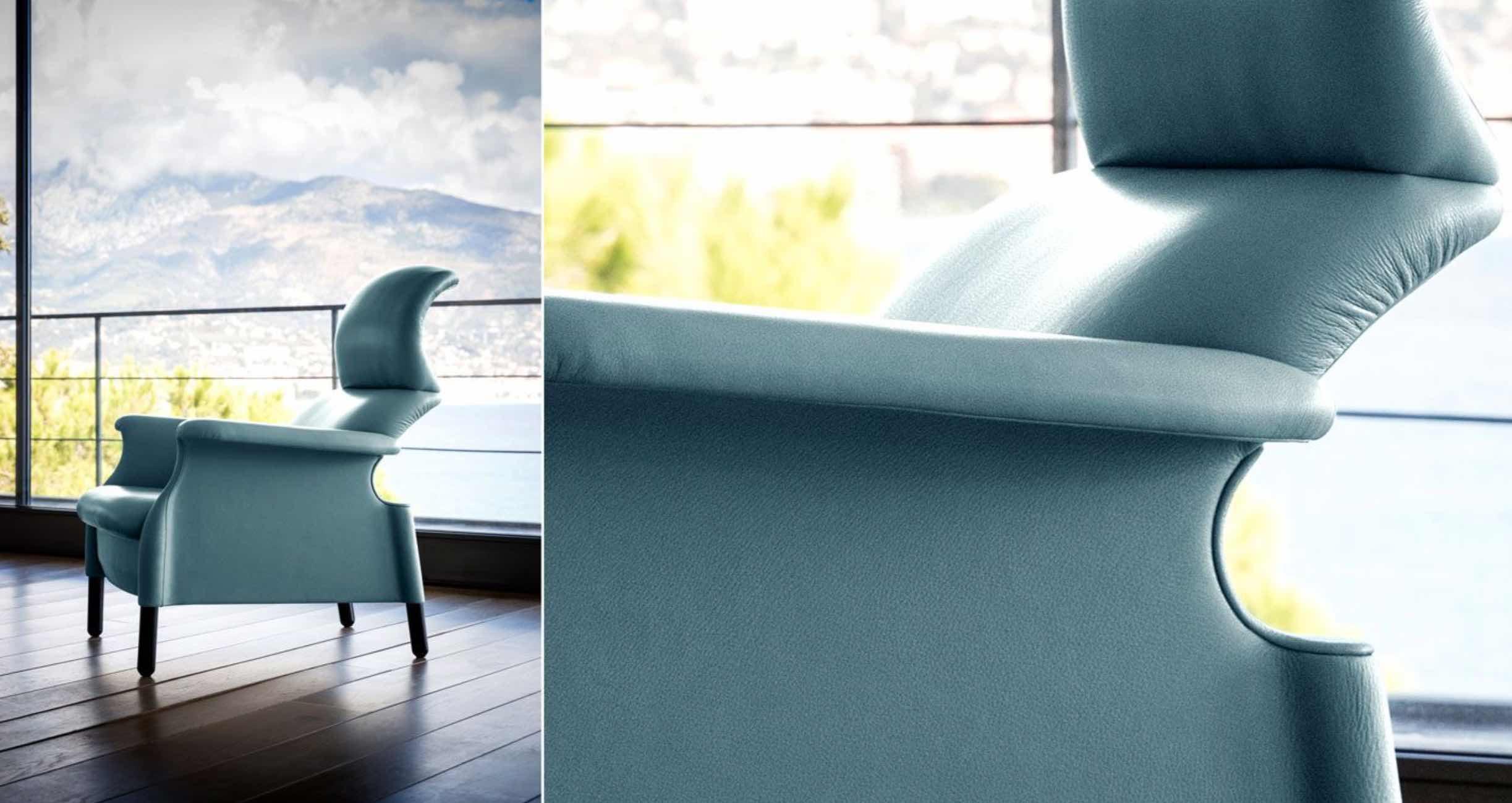 Sanluca | design- Achille & Pier Giacomo Castiglioni | Poltrona Frau