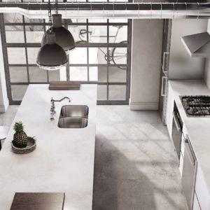 Silestone_ Silver Lake_flooring Brooklyn_Cosentino