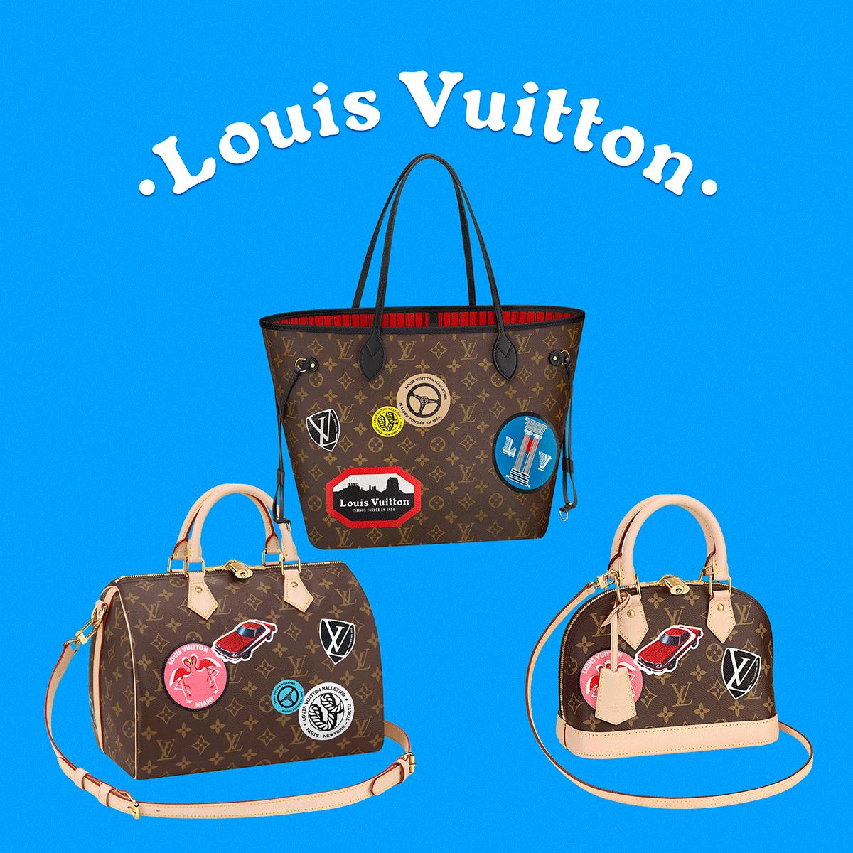 Louis Vuitton rusza w świat