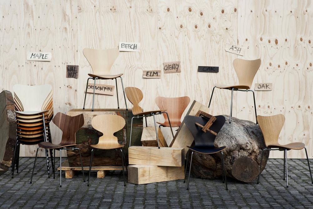 Krzesła do sztaplowania | Arne Jacobsen