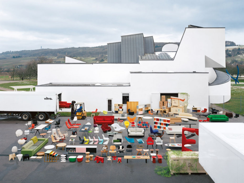 The Vitra Design Museum is dedicated to the research and presentation of design, past and present