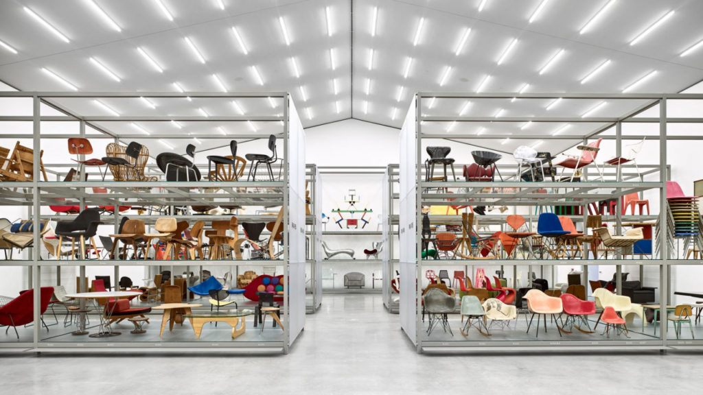 The Vitra Design Museum storage