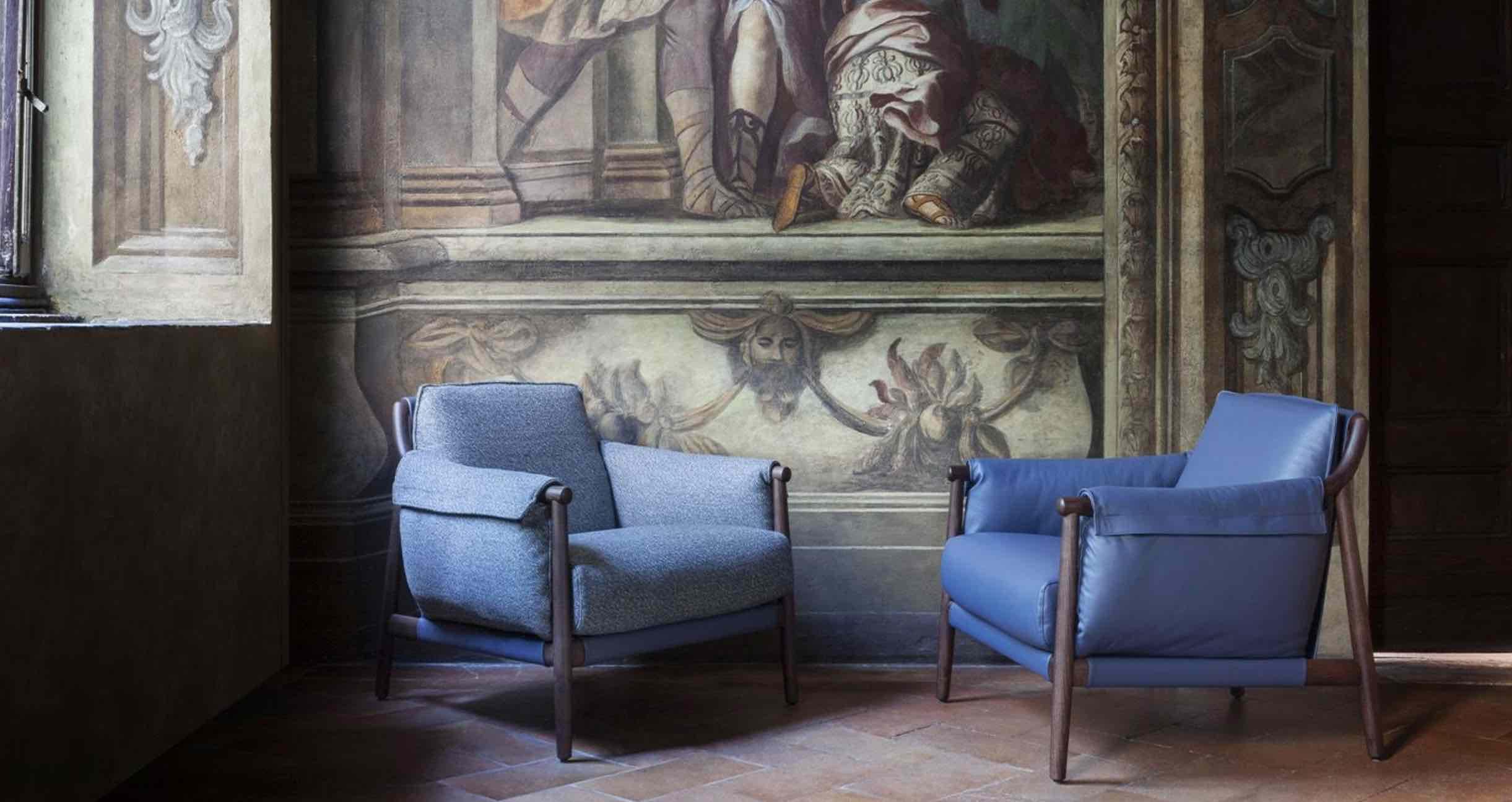 Times Lounge | design- Spalvieri & Del Ciotto | Poltrona Frau