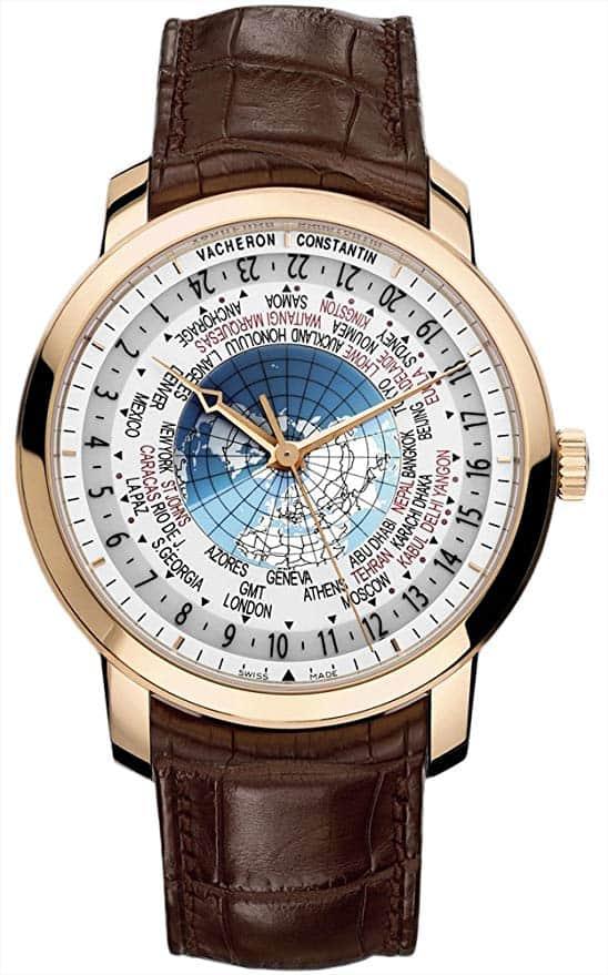 kiedy przestawiamy zegarki01 Vacheron Constantin | Patrimony Traditionnelle World Time