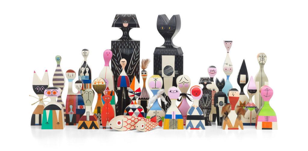 Wooden Dolls Alexander Girard, 1952