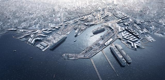 Masterplan 2030 – ZHA projektują nowe życie dla portu w Tallinie