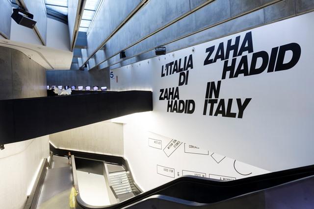 Zaha Hadid in Italy – wystawa w Rzymie