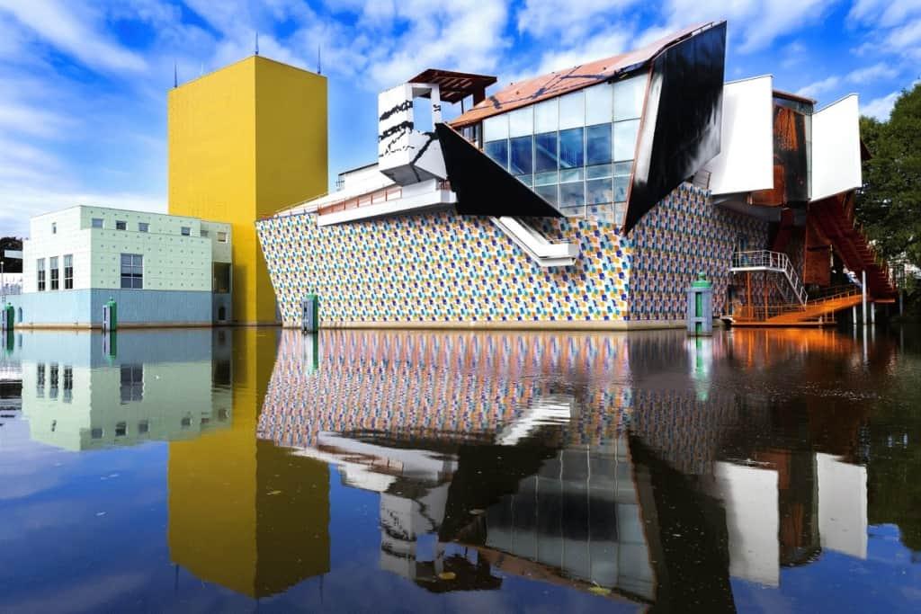 Ostatni wielki Mistrz - Alessandro Mendini uhonorowany wyjątkowym projektem wielkoskalowym w Grininger Museum.