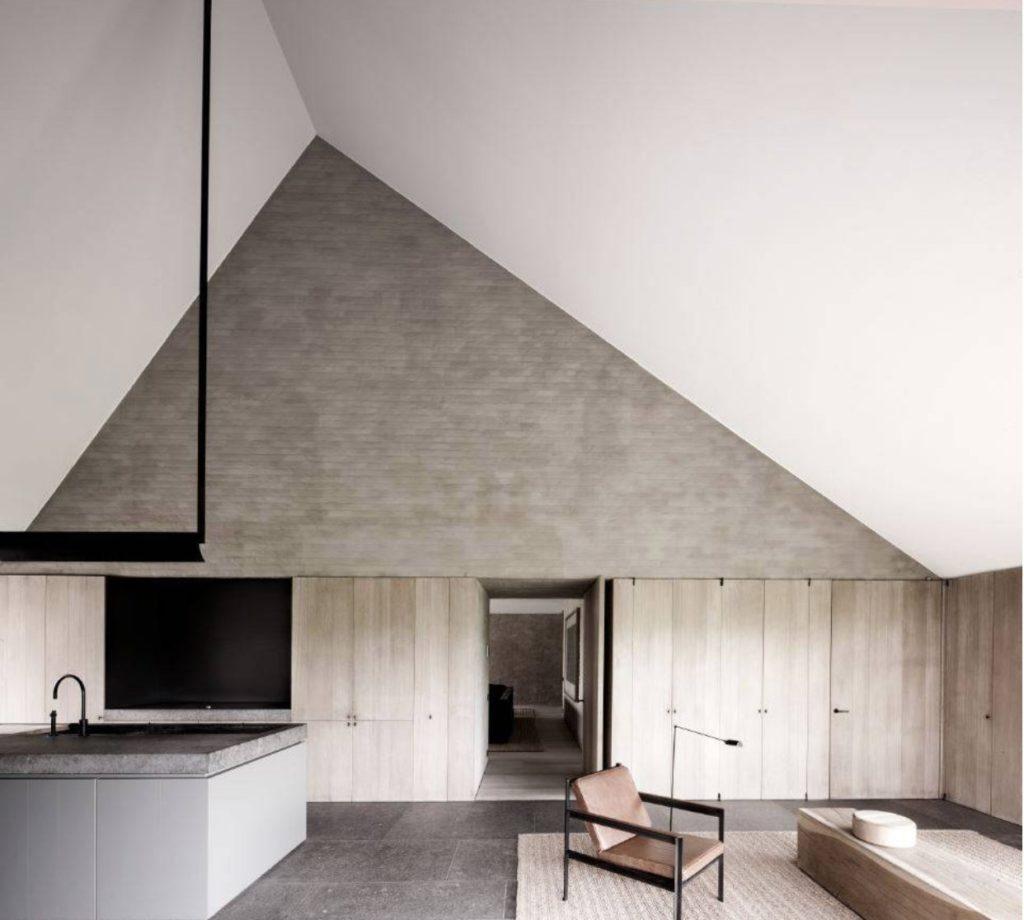 BS residence - projekt Vincent Van Duysen