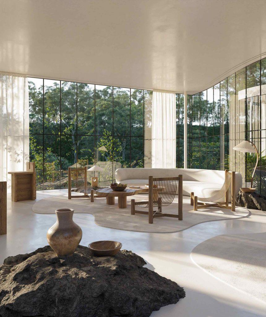 casa-atibaia-renderings-charlotte-taylor-nicholas-preaud_ brazylijskiego modernizmu 8