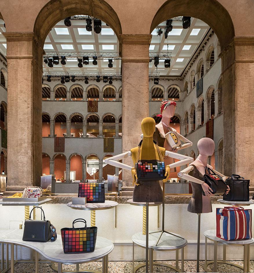 Fondaco dei Tedeschi – dom mody i kultury