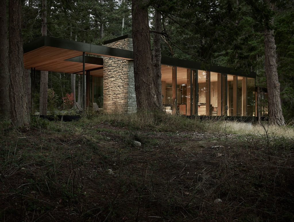 Na pierwszy rzut oka niepozorna konstrukcja stanowi dobrze przemyślany plan architektoniczny.