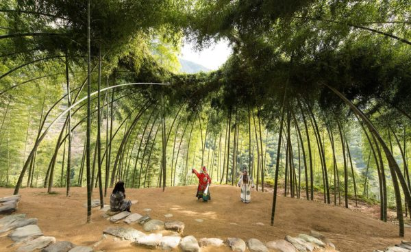 Bamboo Theatre, by DnA Design and Architecture,