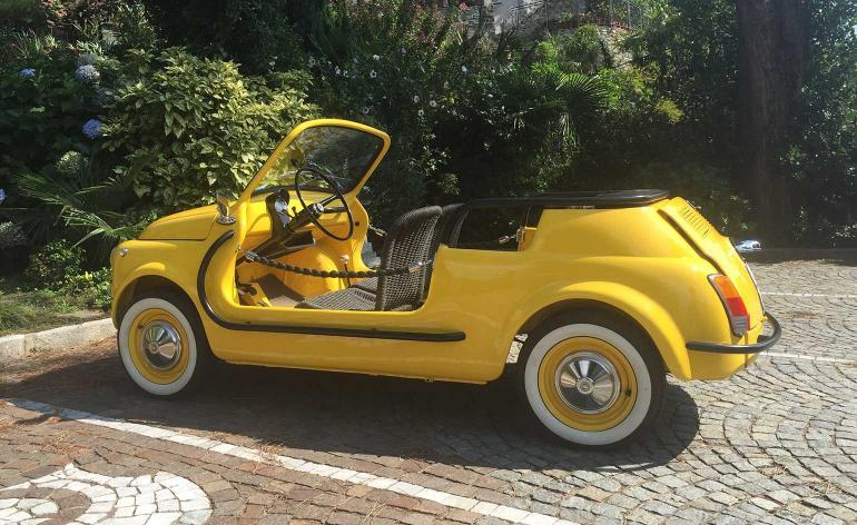 samochód elektryczny Fiat500-01