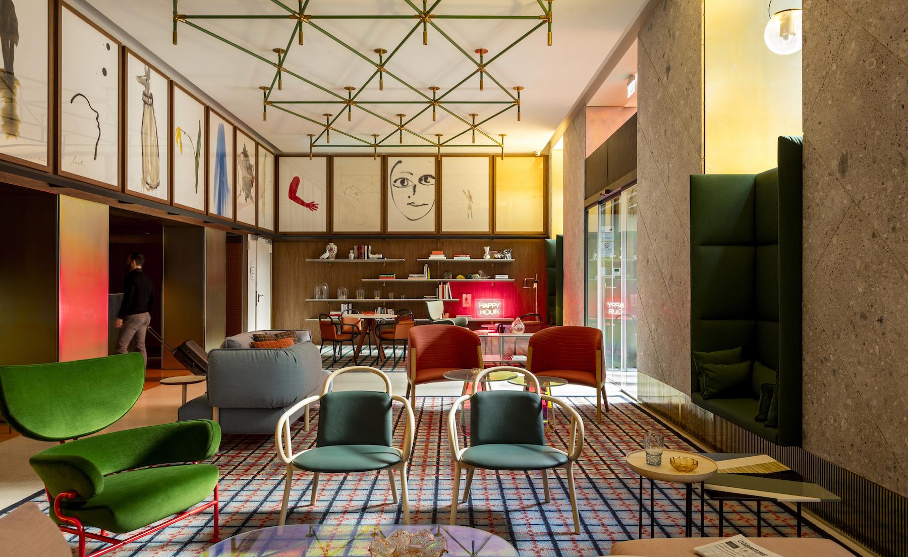 Hotel projektu Patricii Urquioli