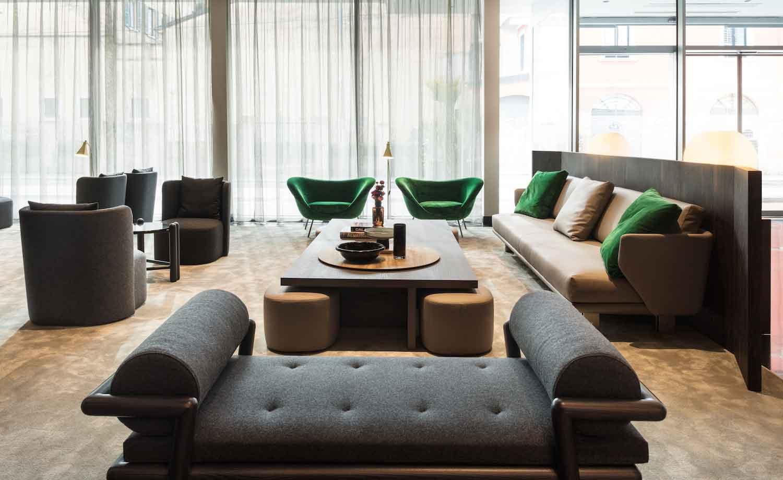 Tonący w zieleni Hotel Viu, Mediolan