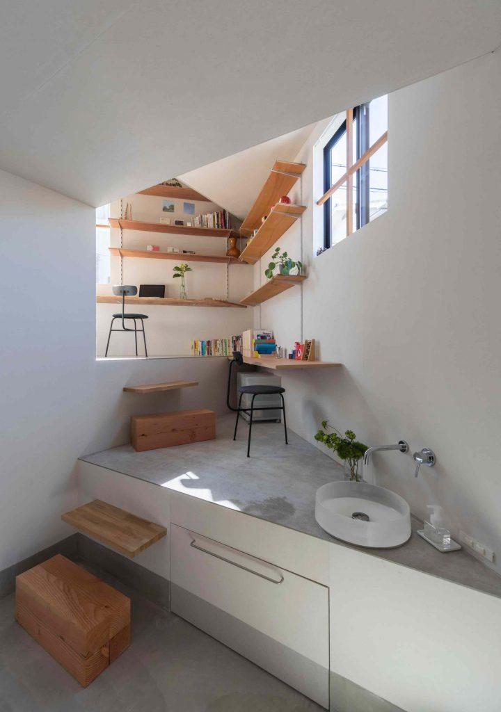 house-in-takatsuki-tato-architects wielopoziomowy dom 02
