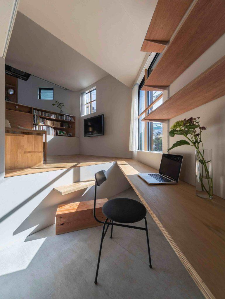 house-in-takatsuki-tato-architects wielopoziomowy dom 03