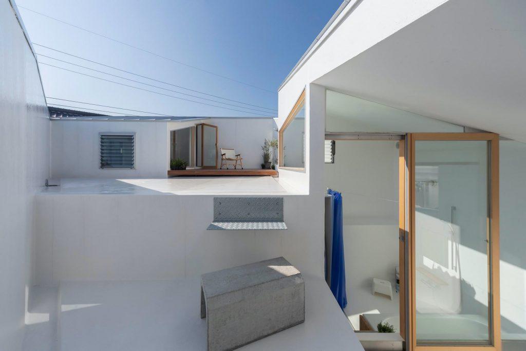 house-in-takatsuki-tato-architects wielopoziomowy dom 08