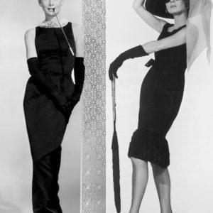 Audrey Hepburn w sukni Huberta de Givenchy