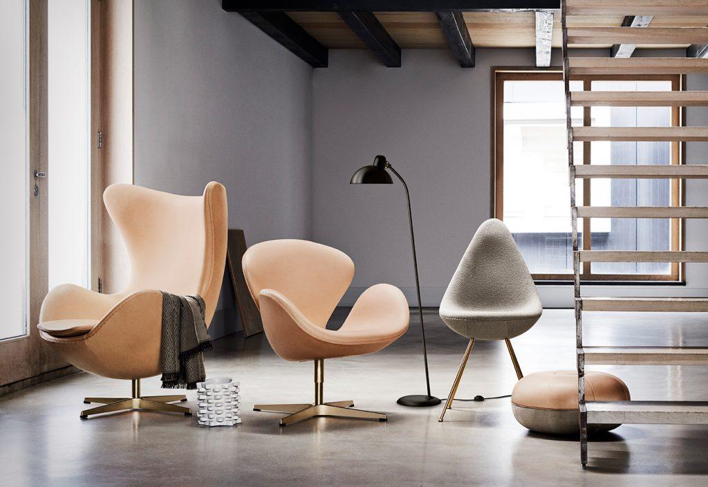 Ikony Arne Jacobsen | © Fritz Hansen duński design