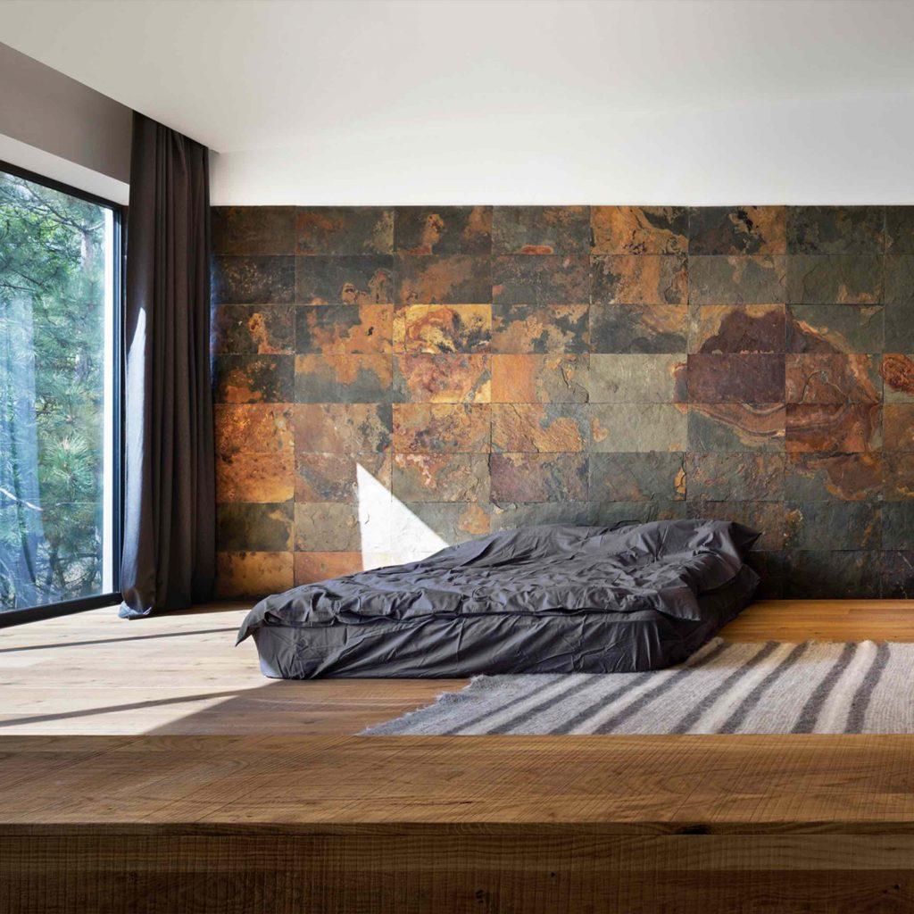 luksusowa sypialnia Azovskiy & Pahomova Architects Ukraina