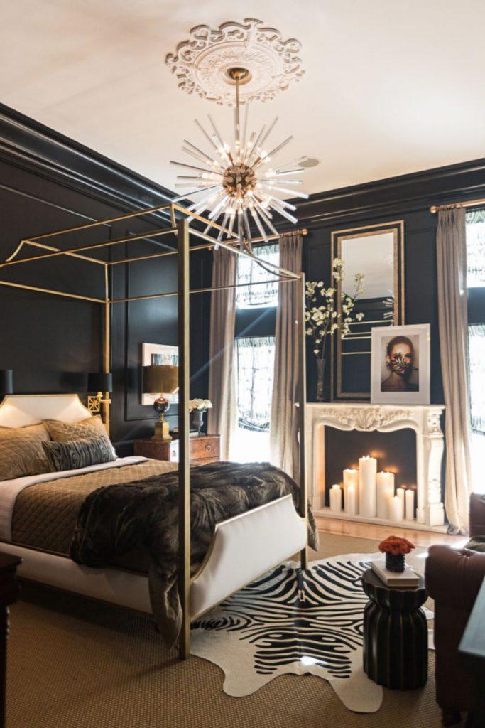 luksusowa sypialnia Jessie D. Miller