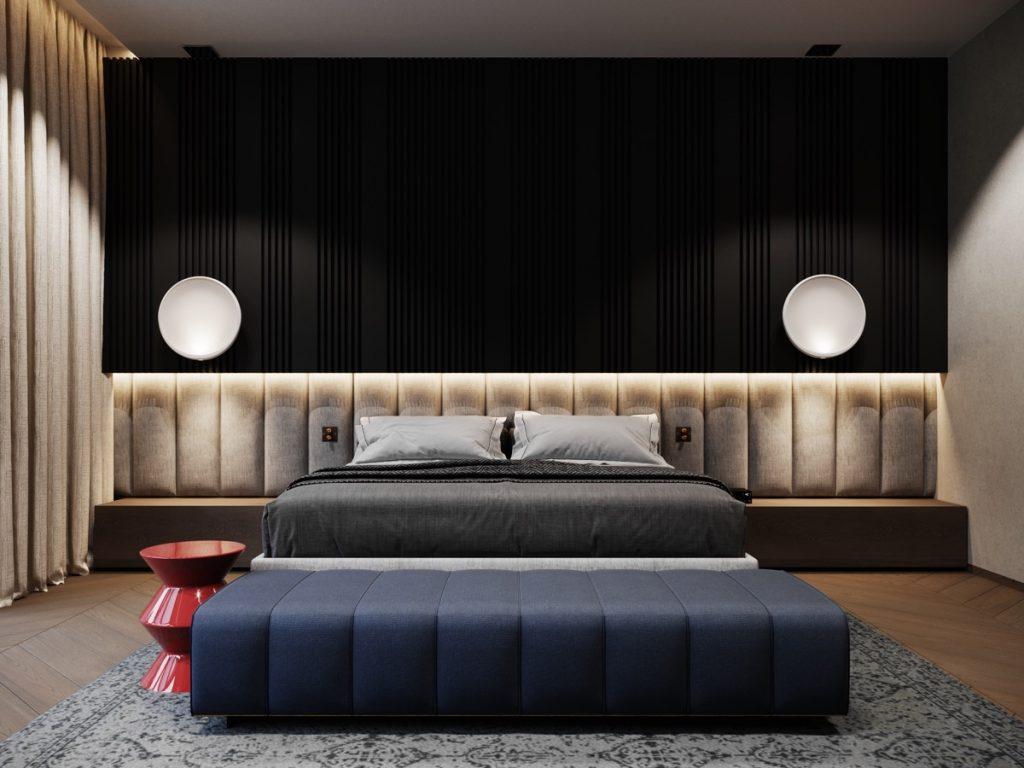 luksusowa sypialnia Johny Mrazko