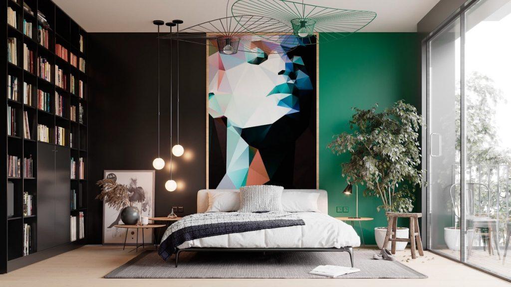 luksusowa sypialnia Madi Chanyshev