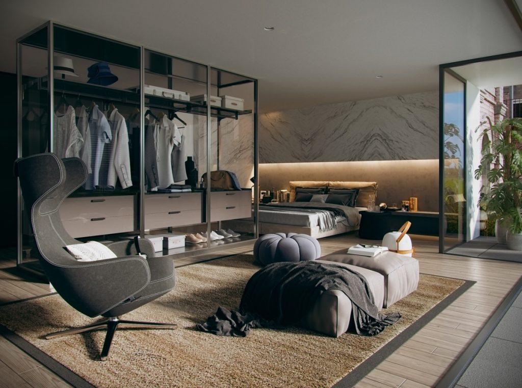 luksusowa sypialnia Tharik Mohammed