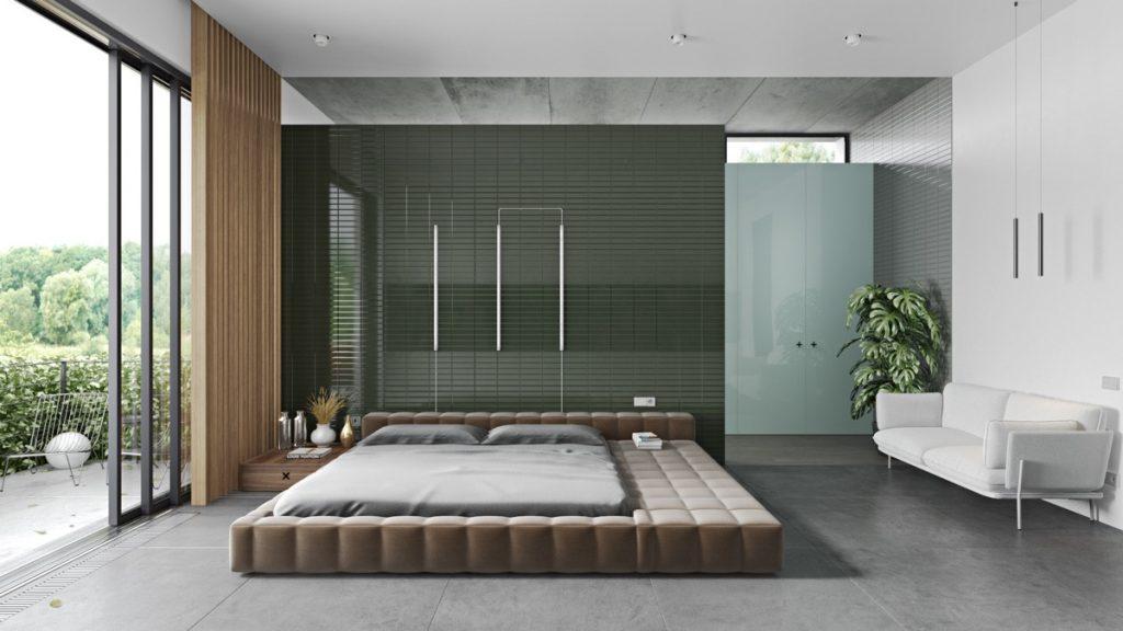 luksusowa sypialnia | Visualizer- Dmitry Koval & Hank Smith