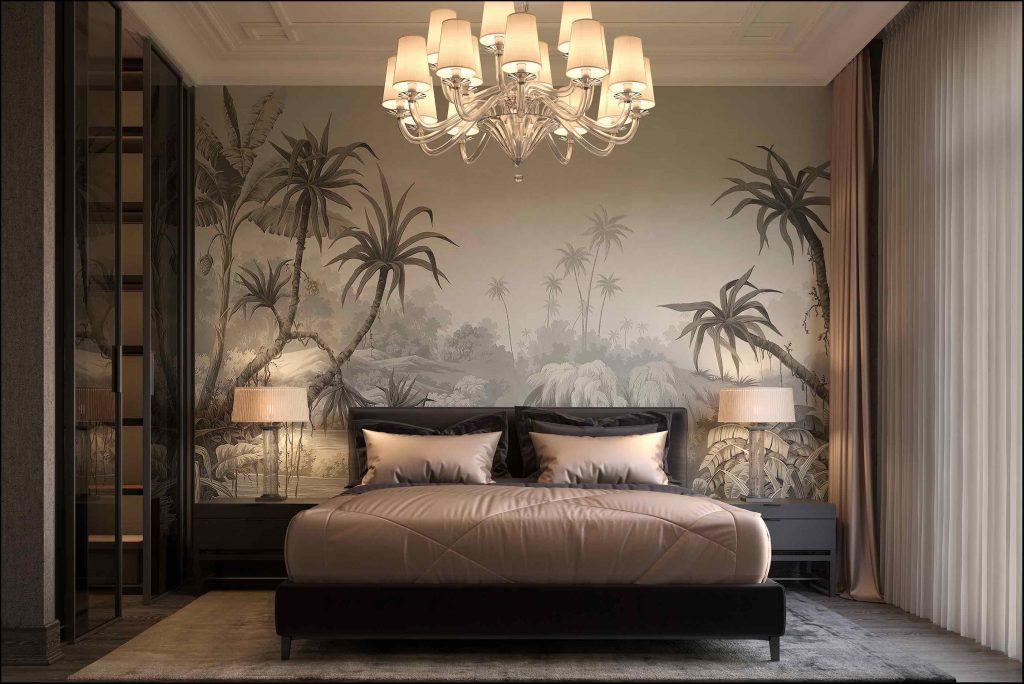 luksusowa sypialnia Wizualizacja- Leyla Salayeva