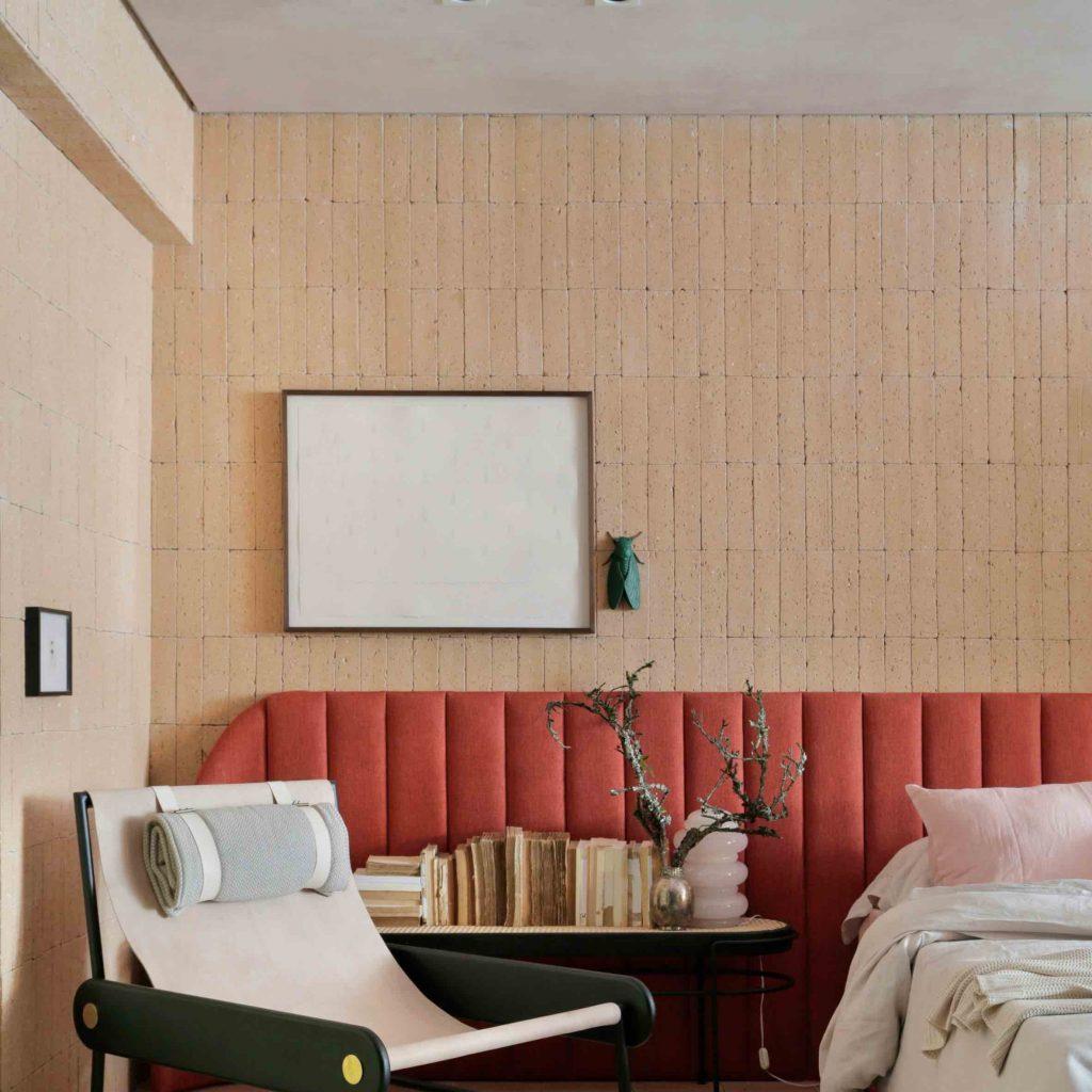 luksusowa sypialnia hygge interior design Melina Romano