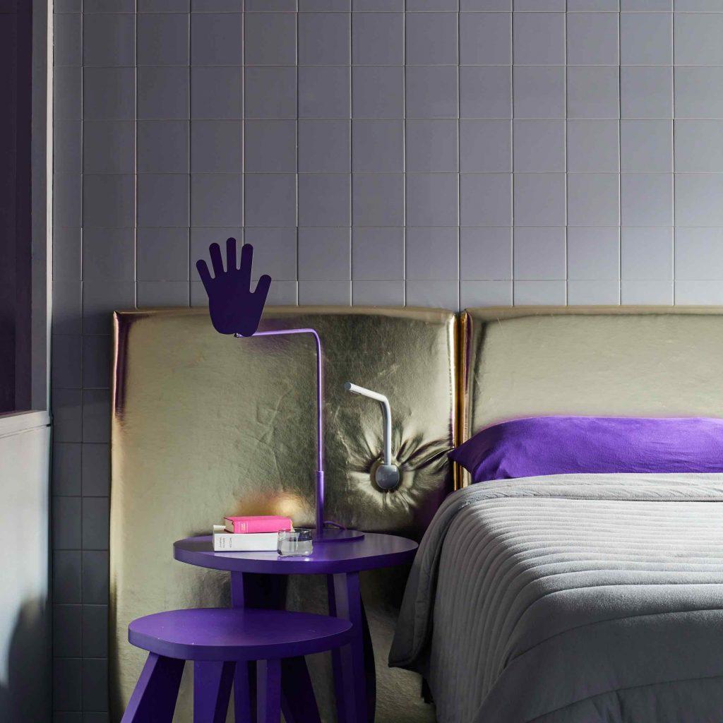 luksusowa sypialnia w nowoczesnym stylu | design- Crosby Studios NY