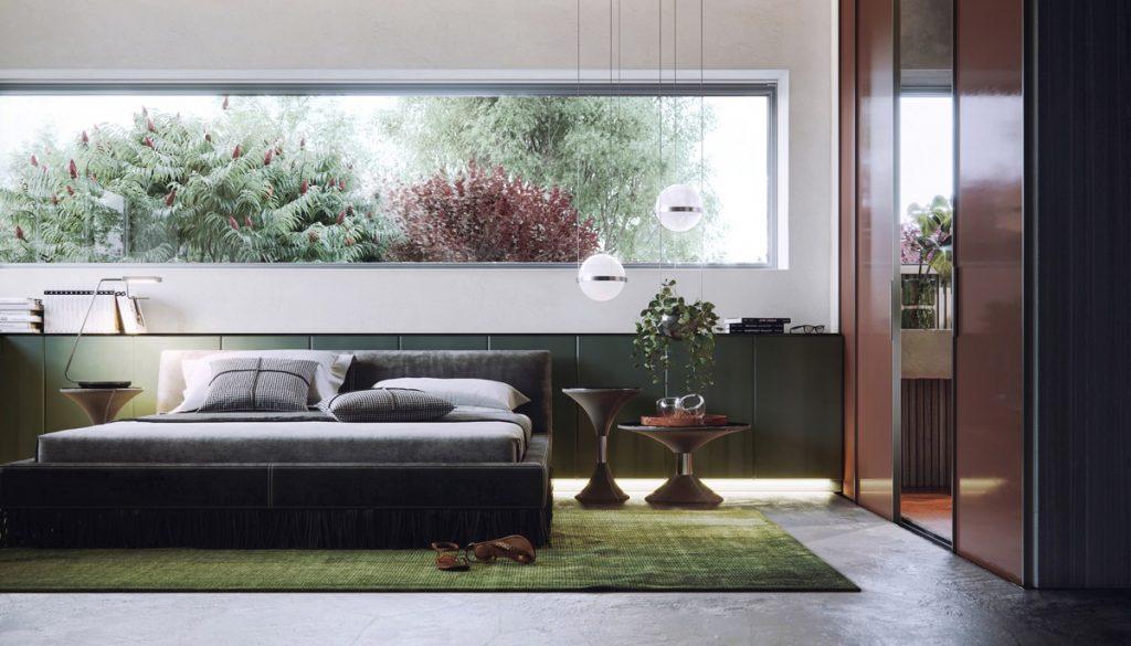 luksusowa sypialnia wizualizacja Anna Fedyukina