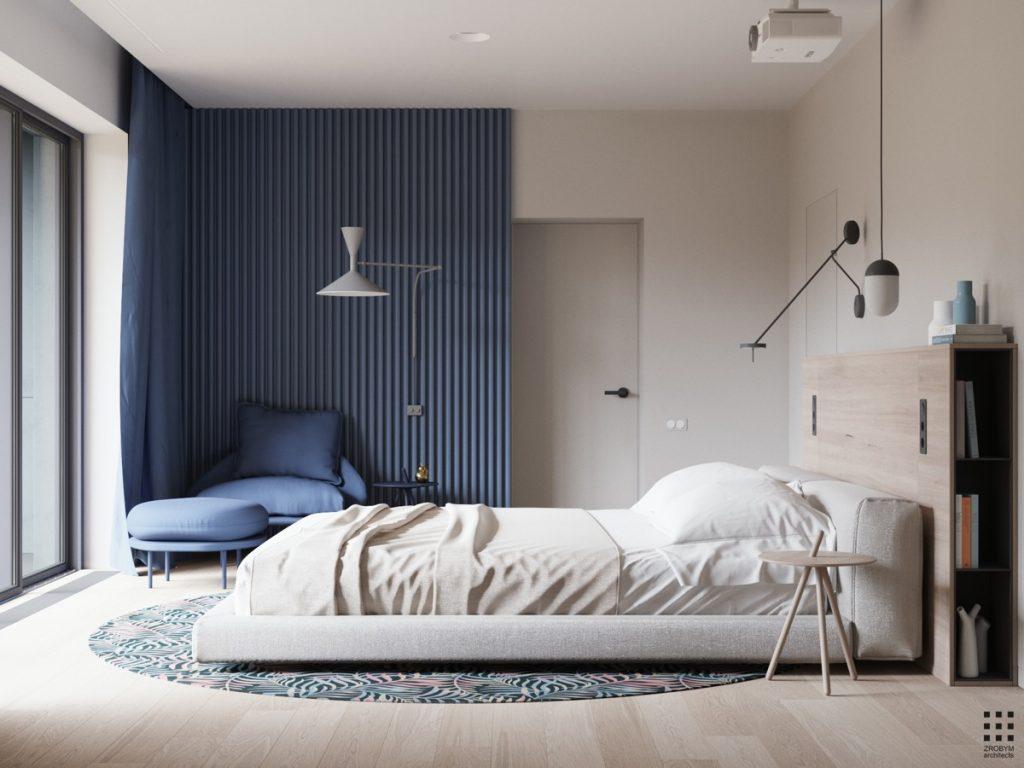 luksusowa sypialnia wizualizacja Zrobym
