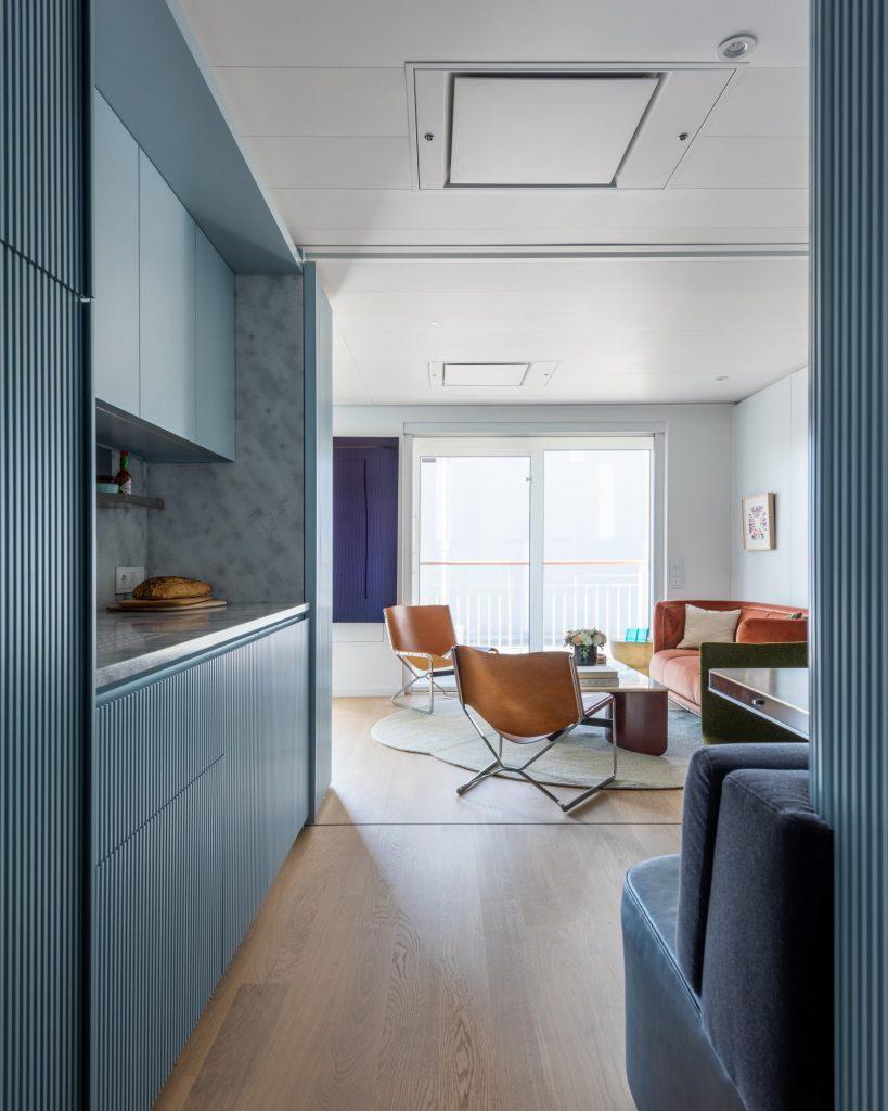 modernistyczne mieszkanie NY 05