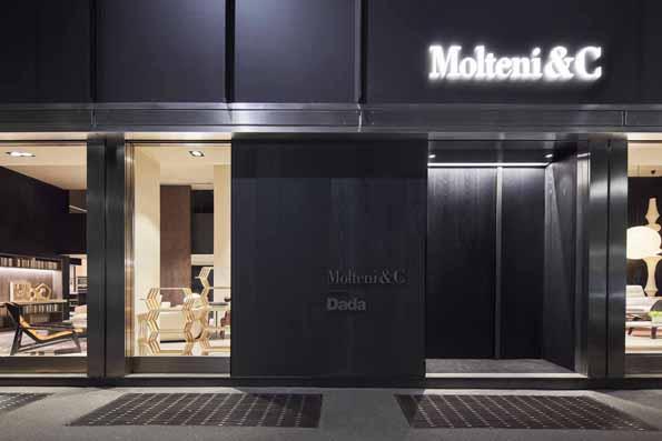 Nowy concept store Molteni&C w Mediolanie