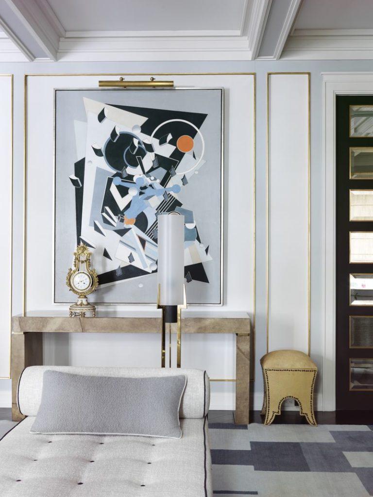 Wnętrze projektu Jean Louis Deniota w stylu neoklasycystycznym