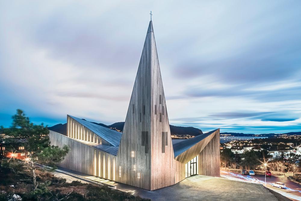 Kościół Knarvik- sakralny minimalizm