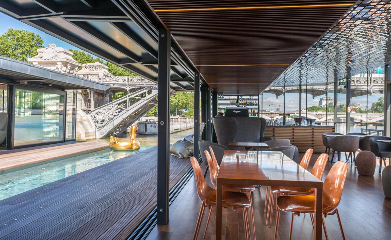 Pływający hotel Off Paris Seine