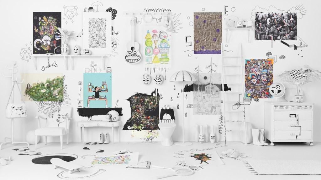 Sztuka na plakatach IKEA ART Event 2017
