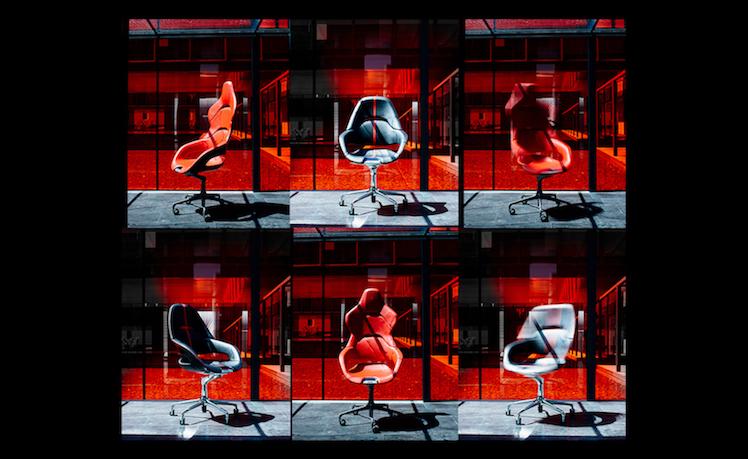 Obrotowe krzesło Poltrona Frau i Ferrari