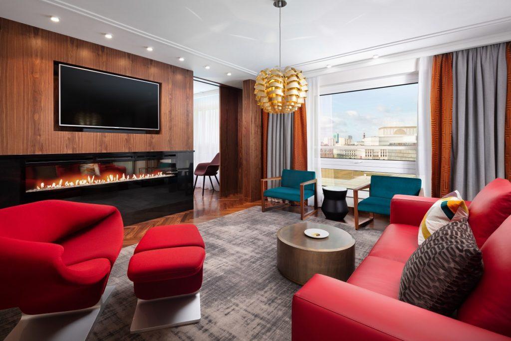Apartament Prezydencki | salon Sofitel