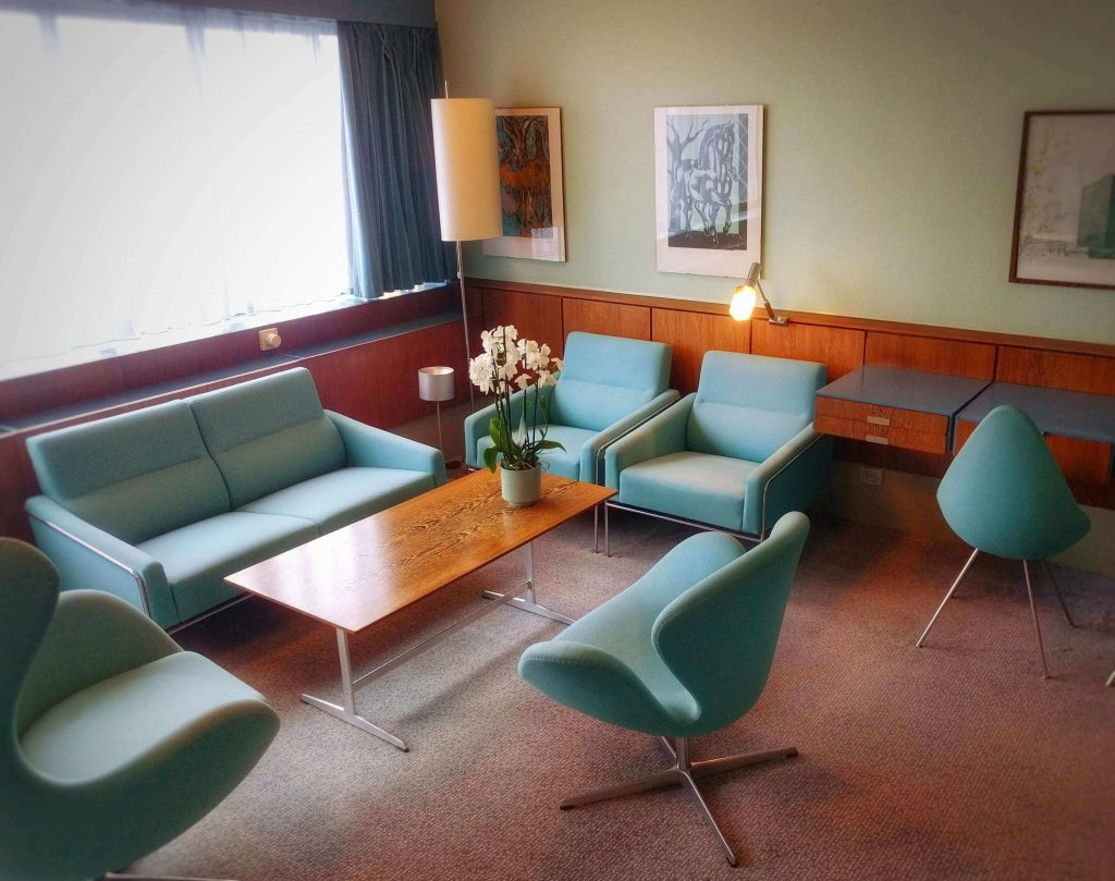 Pokój 606 w Hotelu Royal Sas | Arne Jacobsen